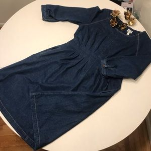 Mo:Vint Clad and Cloth Denim Dress
